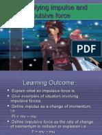 2.6 Analysing Impulse & Impulsive Force