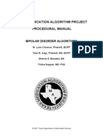 Texas Medication Algorithm Project