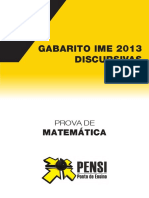 IME 2013