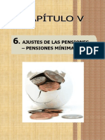 Ajustes de Las Pensiones Minimas en Elperu