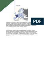 Ubicación Geográfica de Francia