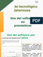 Uso Del Software en Los Pronosticos