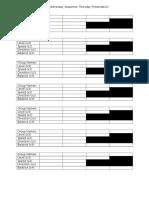sunnyside phys ed  presentation sequence criteria