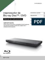 Manual Blue Rey Sony