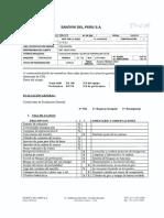 Evaluación Perforadora Sandvik DX700