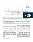 Internalization versus externalization of the internal audit function