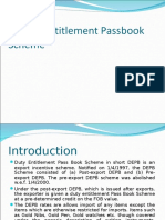 Duty Entitlement Passbook Scheme.ppt