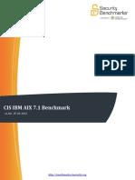 Cis Ibm Aix 7.1 Benchmark v1.0.0