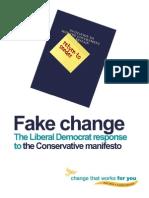Fake Change