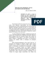 Perspectivas Da Pesquisa Atual do Português do Brasil