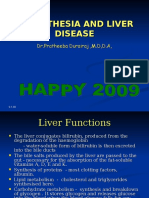 Anesthesia and Liver Diseases