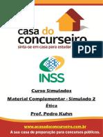Material Complementar Simulado2 Inss Etica Pedrokuhn