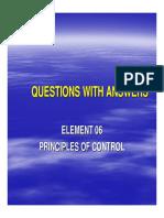 NEBOSH Questions 46 Principles of Control