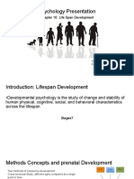 Psychology Presentation Chapter 10- Life Span Development (1)