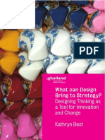What Can Design Bring to Strategy