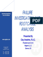 Failure Investigation Anselmo