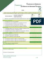 2013 Encuesta de Satisfaccion DISCENTES