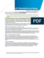 Standards on Issue Not for Profit 23 October 2015