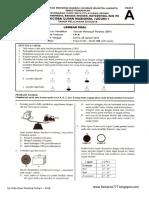 Soal UCUN IPA DKI 1 Paket A 2015-2016