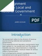 Tax Assignment