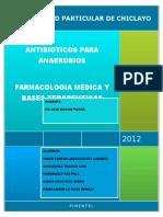 Antibioticos Para Anaerobios