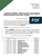 Segunda Lista Provisional Sorteo 240 Viviendas de alquiler en la Teneria II en Pinto