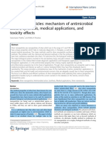 Silver Nanoparticles- Mechanism of Antimicrobial Action, Synthesis, Medical Applications, And Toxicity Effects