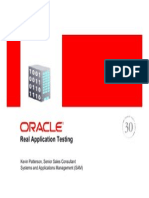 Oracle Real Applications Testing Overview