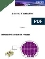 Basic IC Fabrication 1