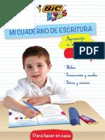 Libro para aprender a escribir