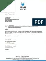 Transcript of Investor's Call [Company Update]
