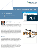 A Matter of Ethics Facing The Fear of Doing The Right Thing© -Seminar pdf