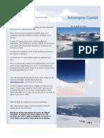 Sejour Le Clou - Encore Disponibilite - Super Ski a Lelioran - Adventure Randonne Neige Monts Du Cantal