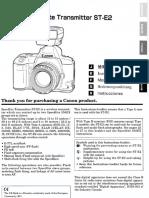 ST E2 Manual