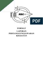 11. Format Laporan Pertanggungjawaban Kegiatan RSC