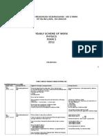 Scheme of Work Form 5 2012