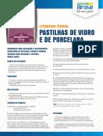 Argamassa Brasil Pastilhas de Vidro e Porcelana