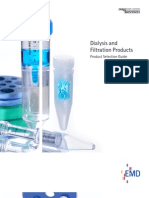 Dialysis and Filtration Products 2010 Product Guide
