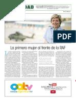 160209 La Verdad CG- La Primera Mujer Al Frente de La RAF p.16