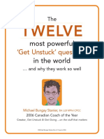 The Twelve Most Powerful 'Get Unstuck' Questions in the World - Michael Bungay Stanier