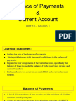 unit 15 - lesson 1 - balance of payments   current account  1