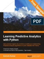 Learning Predictive Analytics with Python - Sample Chapter