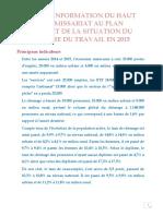 Situation Du Marche Du Travail Annee 2015 Fr
