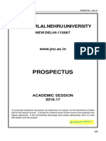 Jnu Admission Brochure