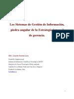 Los sistemas de gestión de Información, piedra angular de la estrategia integral de gerencia