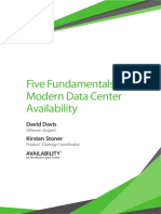 WP Five Fundamentals MDC Availability