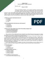 Engle Za 2015, subiecte engleza academia militara