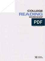 College Reading Workshop