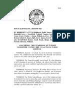 HJR1020-Committee on School Finance