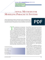 Computational Methods for Modeling Parachute Systems